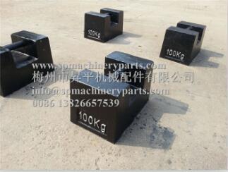 外贸出口100公斤铸铁砝码南京100kg电子秤砝码100kg手提砝码