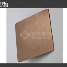 不锈钢拉丝板,不锈钢酒红拉丝板,真空电镀不锈钢,不锈钢表面处理