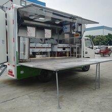 陕西江铃4.2米流动餐车参数图片对比