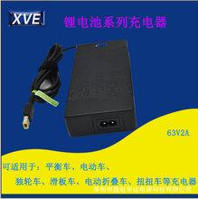 供应63V2A电动车充电器平衡车充电器深圳专业生产电动车充电器