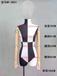 廠家直銷包布模特道具站立時裝模特批發半身人臺女櫥窗模特