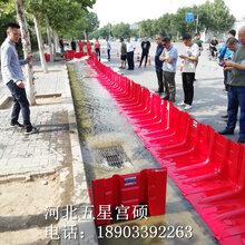 水立克�杉���物移动式组合型防洪板L型红色挡●水板图片