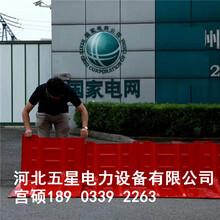 冀虹紅色L型防汛擋水板,L型擋水板生產廠家圖片