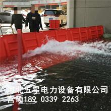 冀虹防汛擋水板-內澇排水組合式擋水板-L型紅色擋水板圖片