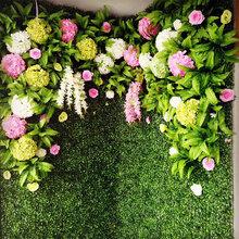 仿真植物墙贴图墙绿植墙花墙婚庆墙厂家直销