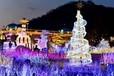 圣诞树灯光异形定制安装厂家销售