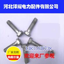 廣西電力鐵塔螺栓,河北澤耀電力配件,規格齊全圖片