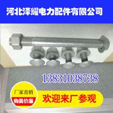 广西护栏螺栓,广西护栏螺栓厂家,河北泽耀电力配件图片