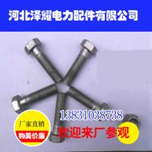 青海電力鐵塔螺栓,河北澤耀電力配件廠家直銷圖片