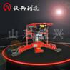 重庆内燃仿形钢轨打磨机FMG-4.4Ⅱ打磨效果