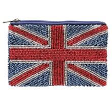 厂家直销珠绣小钱包串珠零钱包米珠袋珠片包手工亮片包国旗珠包