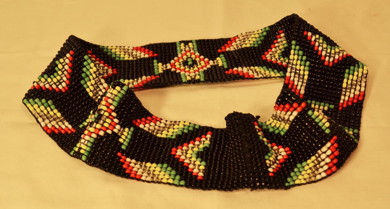 厂家直销串珠腰带弹性松紧腰饰米珠编织腰链织珠腰带珠绣腰带