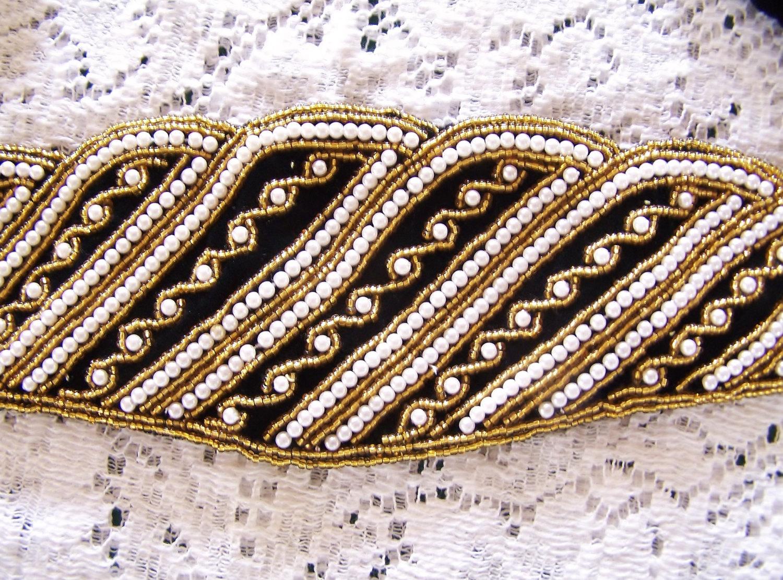厂家直销珠绣腰带串珠腰带手缝亮片腰带珠片腰带钉珠腰带网纱钉珠腰链