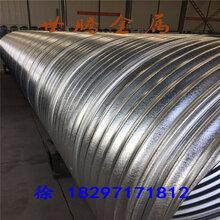 青海隧道金属波纹管螺旋波纹涵管钢波纹管不锈钢波纹管一米多少钱