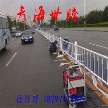 宁夏市政道路护栏分流栏石嘴山防护栏价格