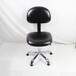 厂家直销防静电pu皮革靠背椅黑色皮革防静电椅子生产车间专用防静电皮革椅