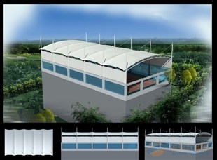 长期供应网球场膜结构工程膜结构景观膜结构设计加工