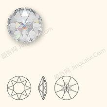 批发1201圆形钻环保施华洛世奇圆形水钻