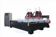 供应鄂尔多斯板式家具生产设备吸塑门移门生产线