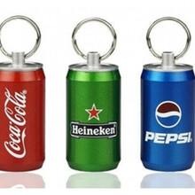 厂家批发可乐啤酒易拉罐U盘礼品u盘USB闪存盘金属易拉罐U盘图片