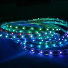 恒源彩光LED灯带12v30灯断点续传广告亮化装饰图片