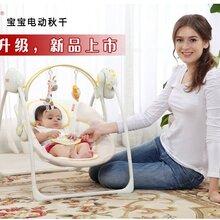 广东厂家直销智能婴儿电动摇篮电动秋千中山自动婴儿摇篮价格
