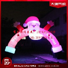6m高7m跨度圣诞拱门