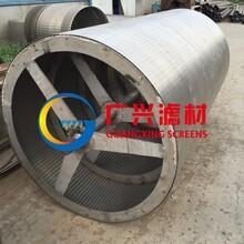 衡水专业老厂生产废渣污水处理楔形网滚筒筛网图片