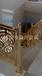 土豪别墅御用弧形铝楼梯护栏高档镂空扶手护栏