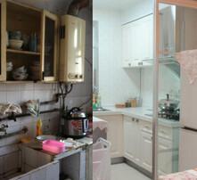 二手房装修墙面粉刷,油漆拆旧,厨卫防水改装工程,水路安装图片