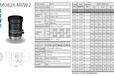 供应M5018-MPW2五百万工业镜头computar镜头全系列低价