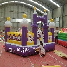 广东揭阳充气城堡的场地