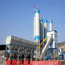 四川工程机械设备商品混凝土搅拌站120混泥土搅拌站图片