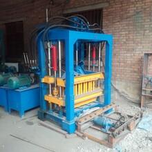 新型空心水泥砖机整套设备水泥混凝土静压垫块机老式红砖机厂家图片