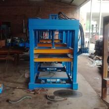 供应优质砖机生产设备液压成型砖机新型空心免烧砖机厂家现货图片