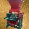 小型移動式制磚機柴油動力空心磚磚機出口磚機