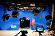 實景演播室搭建超清4K演播室藍箱燈光裝修演播室建設方案