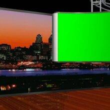 校园演播室装修超清演播厅建设虚拟演播室背景抠像图片
