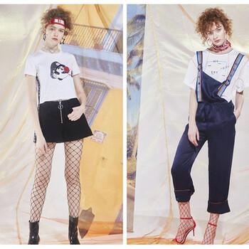 上海品牌女装地素18夏装连衣裙库存尾货走份批发找哪家?