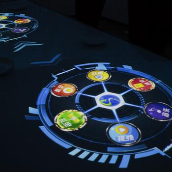5D引流光影餐桌-5D无人餐厅-5D全景包房
