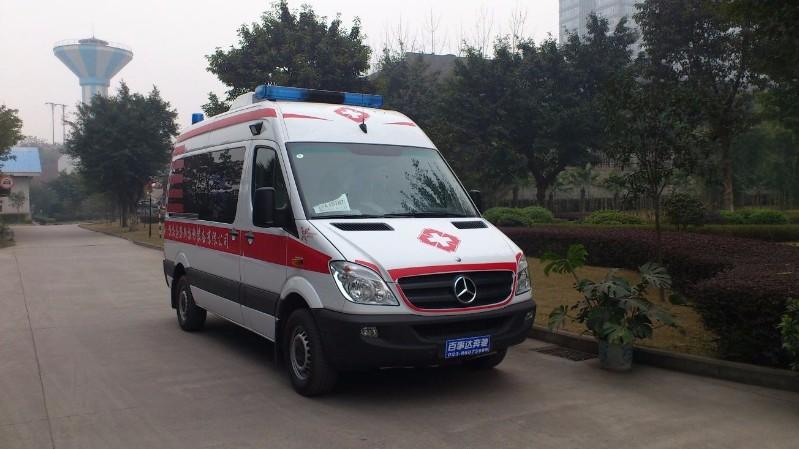 仙桃跨省救护车转运-公司出租