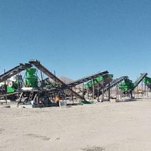 河南銷售少重制砂生產線質量可靠,機制砂生產線圖片