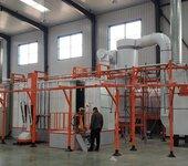 新月涂装粉末静电喷涂设备改善生产过程控制
