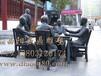 定做玻璃钢铸铜雕塑商业街步行街小品雕像