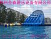 充氣水上樂園支架水池移動水上樂園充氣水滑梯兒童游泳池