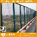 淄博河道护栏网高架桥防护网聊城桃型柱隔离栏报价