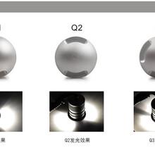 单侧发光地埋灯3W迷你户外防水IP67嵌入式LED侧透光地埋灯厂家直销批发