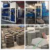 奇工8-15生态六角砖机免烧生态工字护坡砖机全自动六棱护坡砖机