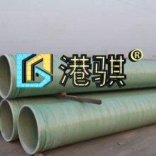 排污玻璃钢管道厂家直销-港骐