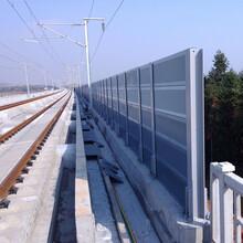 安徽铁路声屏障隔音效果测试图片